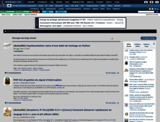 neo.developpez.com screenshot