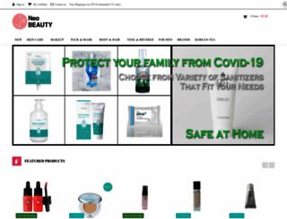 neobeauty.com screenshot