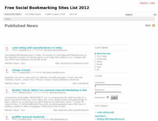 neobookmarking.info screenshot