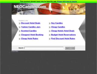 neocandles.com screenshot