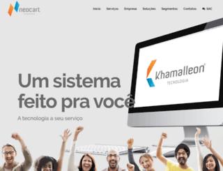 neocart.com.br screenshot
