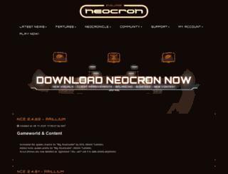 neocron.com screenshot