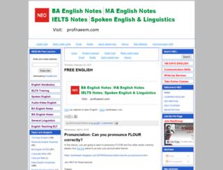 neoenglishsystem.blogspot.in screenshot