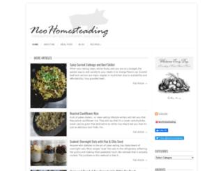 neohomesteading.com screenshot