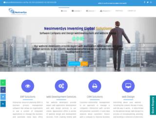 neoinvensys.com screenshot