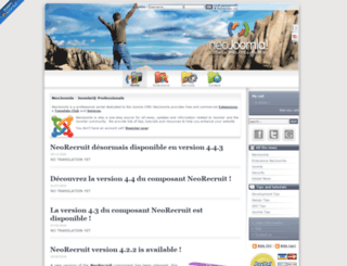 neojoomla.com screenshot