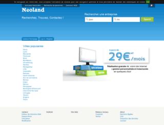 neoland.fr screenshot