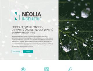 neolia-ingenierie.fr screenshot