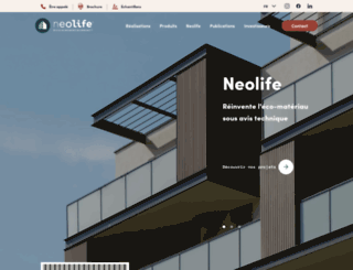 neolife-solutions.com screenshot