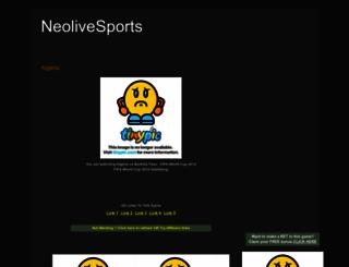 neolsports.blogspot.co.uk screenshot