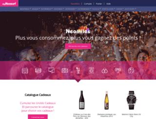 neomiles.com screenshot