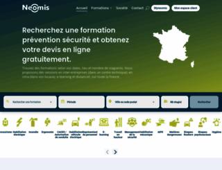 neomis.fr screenshot