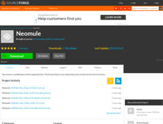 neomule.sf.net screenshot