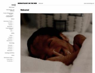 neonatology.org screenshot