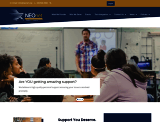 neonet.org screenshot