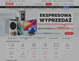 neonet.pl screenshot