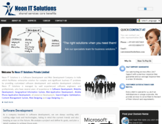 neonitsolutions.com screenshot
