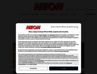 neonmag.fr screenshot