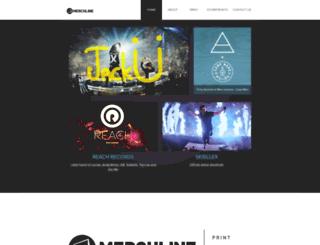 neontrees.merchline.com screenshot