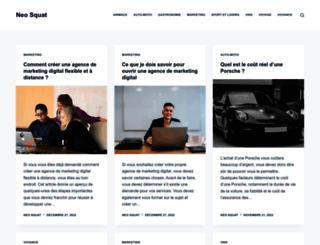 neosquat.com screenshot