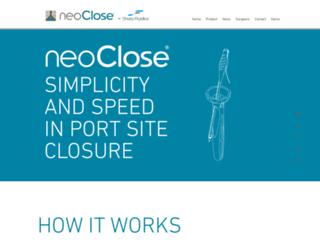 neosurgical.com screenshot