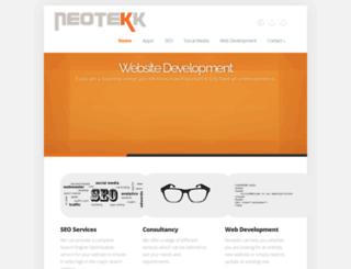 neotekk.co.uk screenshot