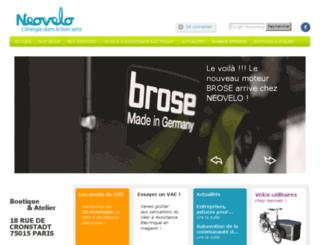 neovelo.fr screenshot