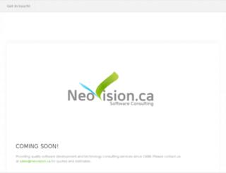 neovision.ca screenshot