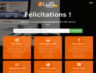 neowebagency.fr screenshot