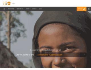 nepal.unfpa.org screenshot
