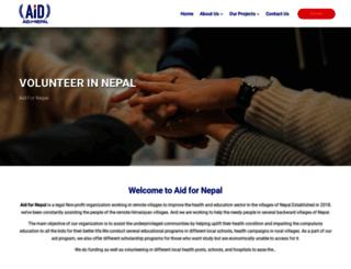 nepaladventurestrekking.com screenshot
