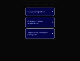 nepalembassydanmark.com screenshot
