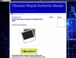 nepalesearts.blogspot.com screenshot