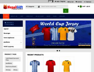 nepalgift.com screenshot