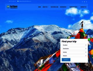 nepalhighpointtrekking.com screenshot
