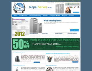 nepalserver.net screenshot