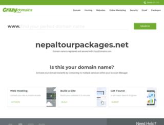nepaltourpackages.net screenshot