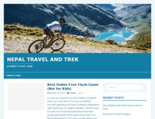 nepaltravelandtrek.com screenshot