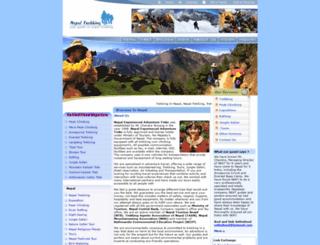 nepaltrekking.com.np screenshot