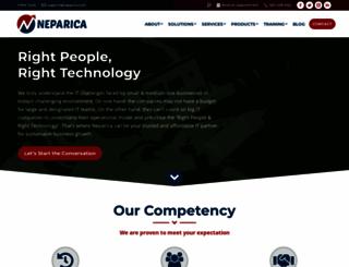 neparica.com screenshot