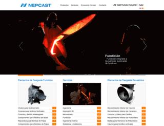 nepcast.com screenshot