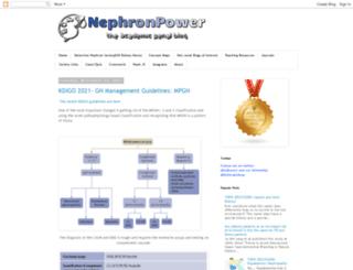 nephronpower.com screenshot