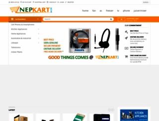 nepkart.com screenshot