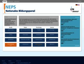 neps-data.de screenshot