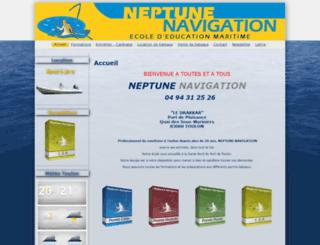 neptunenavigation.fr screenshot