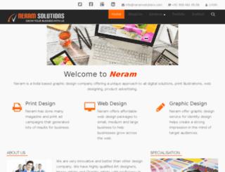 neramsolutions.com screenshot