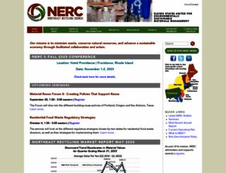 nerc.org screenshot