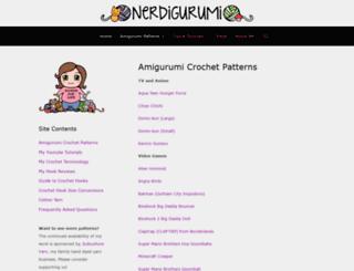 nerdigurumi.com screenshot