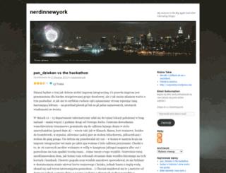 nerdinnewyork.wordpress.com screenshot