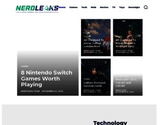 nerdleaks.com screenshot